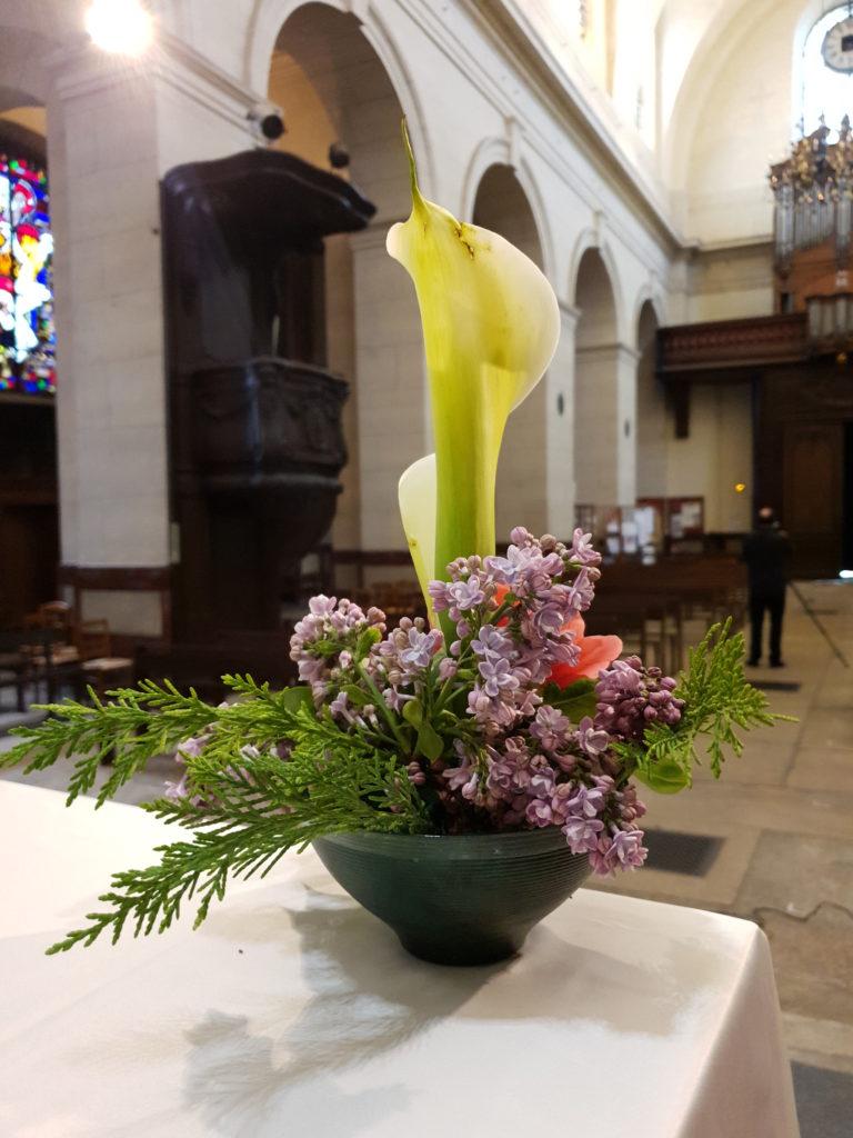 Pâques 2020 à Saint-Louis-bouquet de fleurs